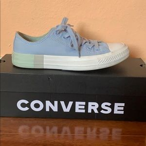 Light Blue All Star Converse